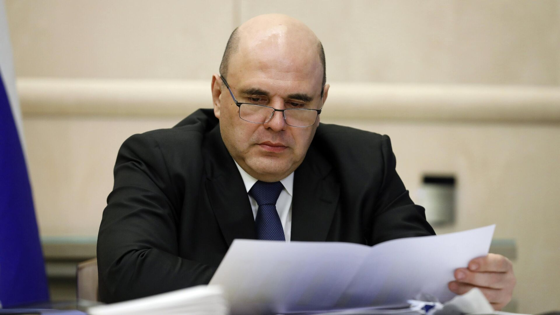 Председатель правительства РФ Михаил Мишустин - РИА Новости, 1920, 19.04.2021