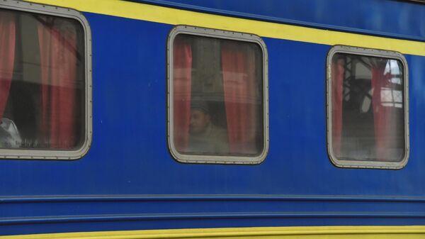 Поезд Украинских железных дорог