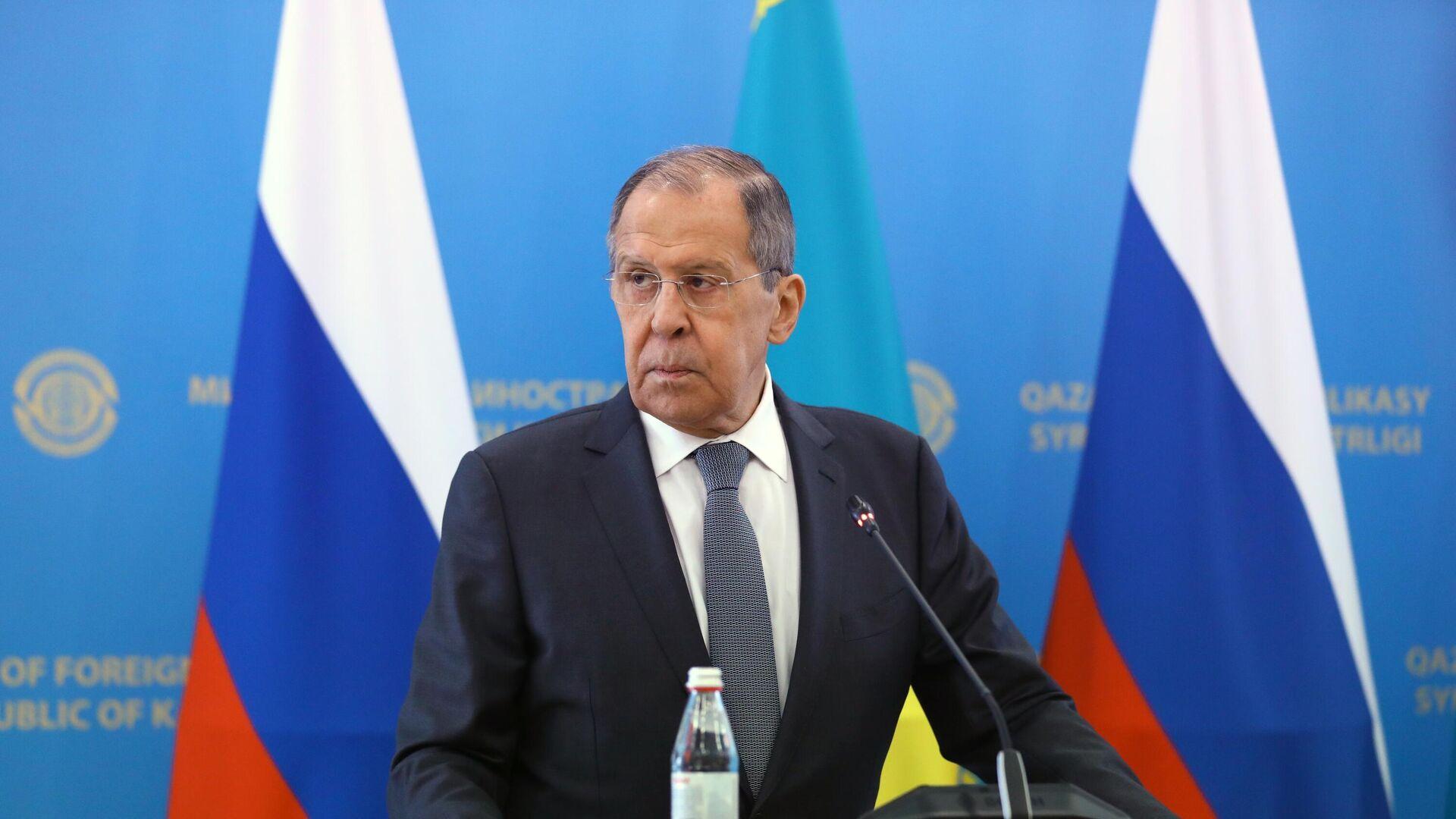 Министр иностранных дел РФ Сергей Лавров - РИА Новости, 1920, 28.04.2021