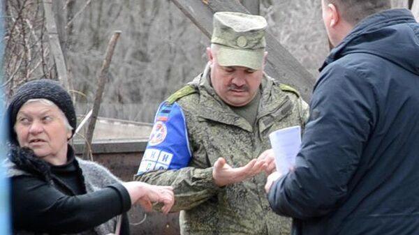 Представители ООН осмотрели место гибели ребенка на Донбассе