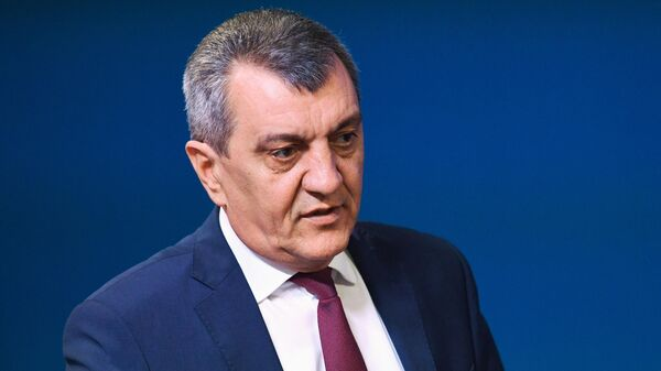 Временно исполняющий обязанности главы Северной Осетии Сергей Меняйло