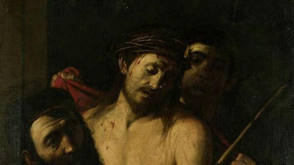 Картина Терновый венец возможно принадлежащая кисти Караваджо