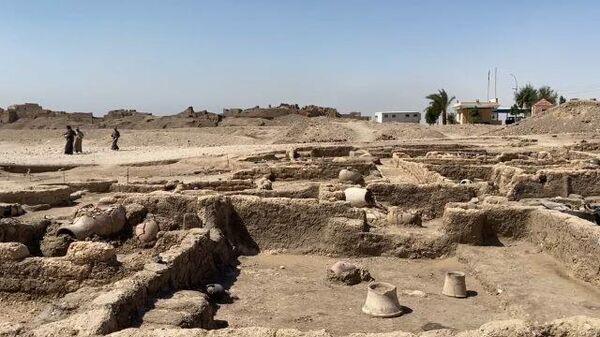 Золотой город: раскопки под Луксором в Египте