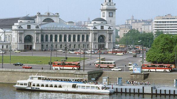 Причал Киевский вокзал в Москве