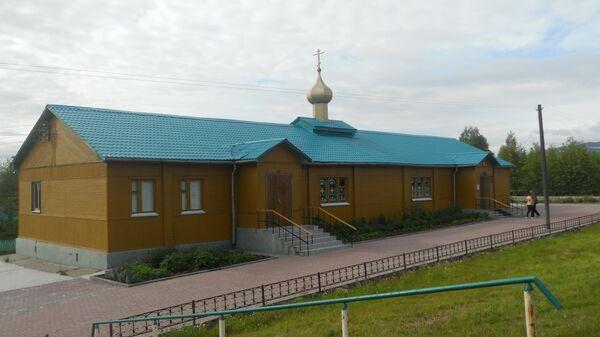 Церковь Успения Пресвятой Богородицы в Апатитах