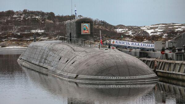 Атомная подводная лодка К-549 Князь Владимир в Гаджиево