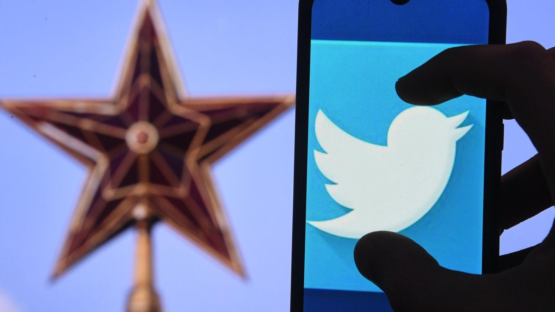 Логотип социальной сети Twitter - РИА Новости, 1920, 07.06.2021