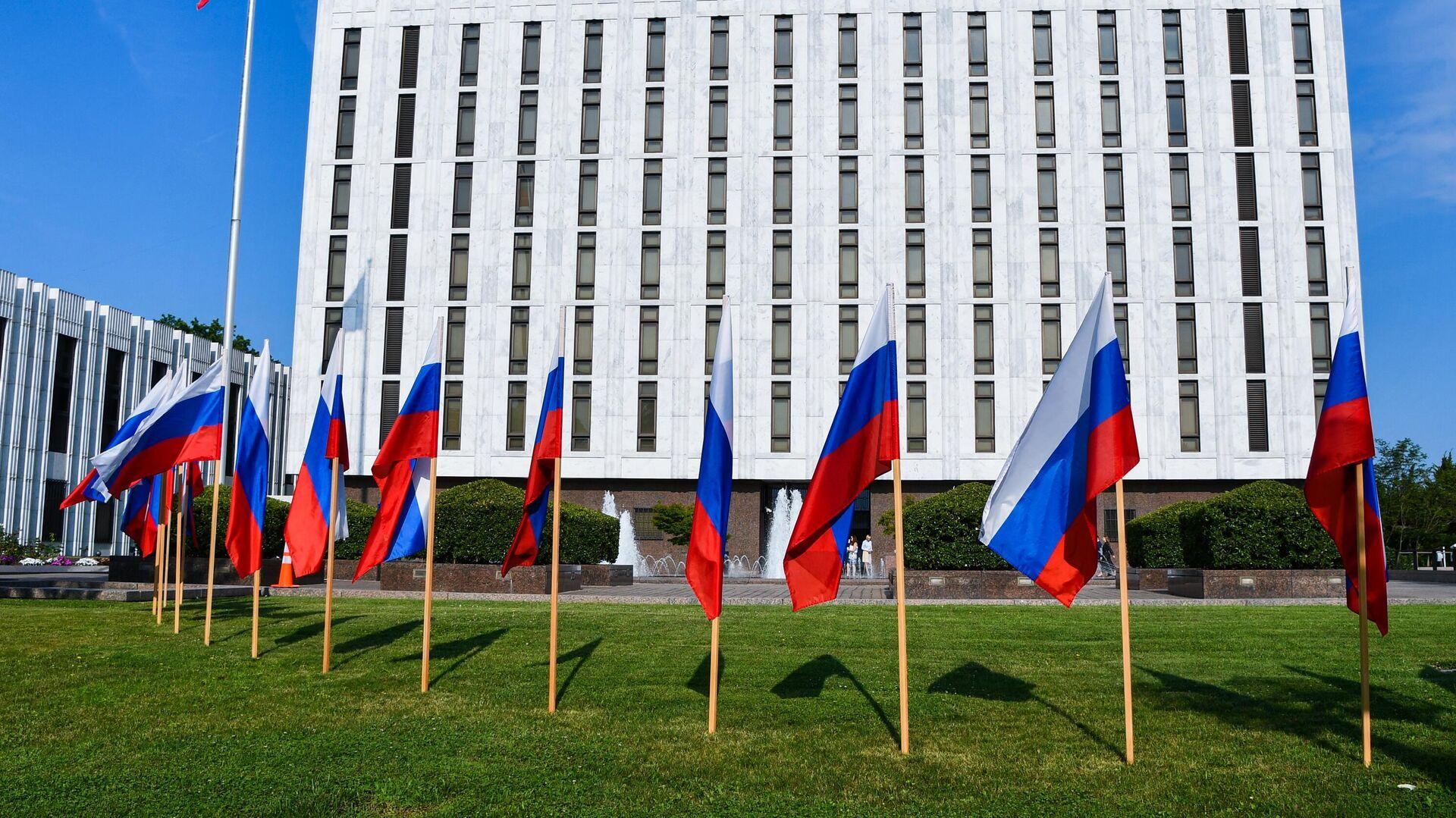 Здание посольства России в Вашингтоне - РИА Новости, 1920, 21.09.2021