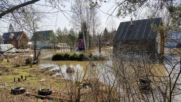 Последствия подтопления на территории Вологодской области