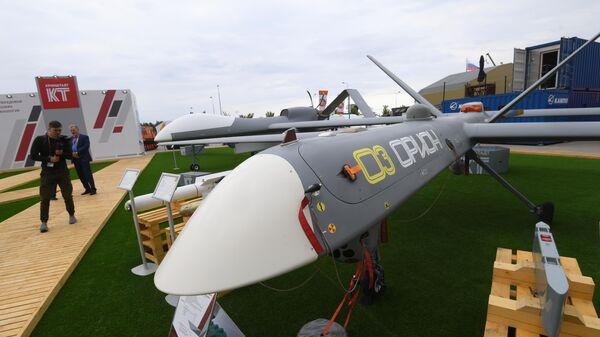 Комплекс воздушной разведки с беспилотными летательными аппаратами большой продолжительности полета с возможностью выполнения разведывательно-ударных задач Орион компании Кронштадт