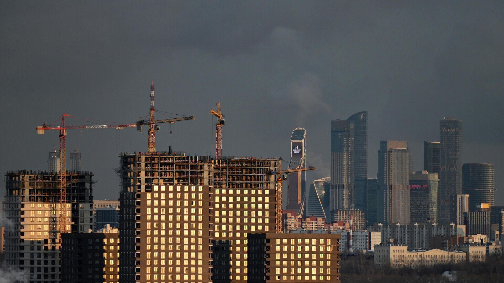 Строительство жилья - РИА Новости, 1920, 30.04.2021