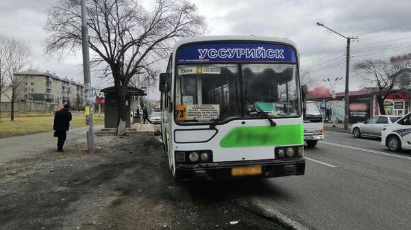 Женщина погибла в ДТП с участием рейсового автобуса в Уссурийске