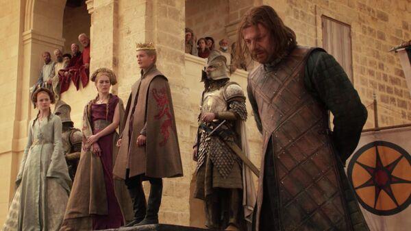 Кадр из сериала Игра престолов