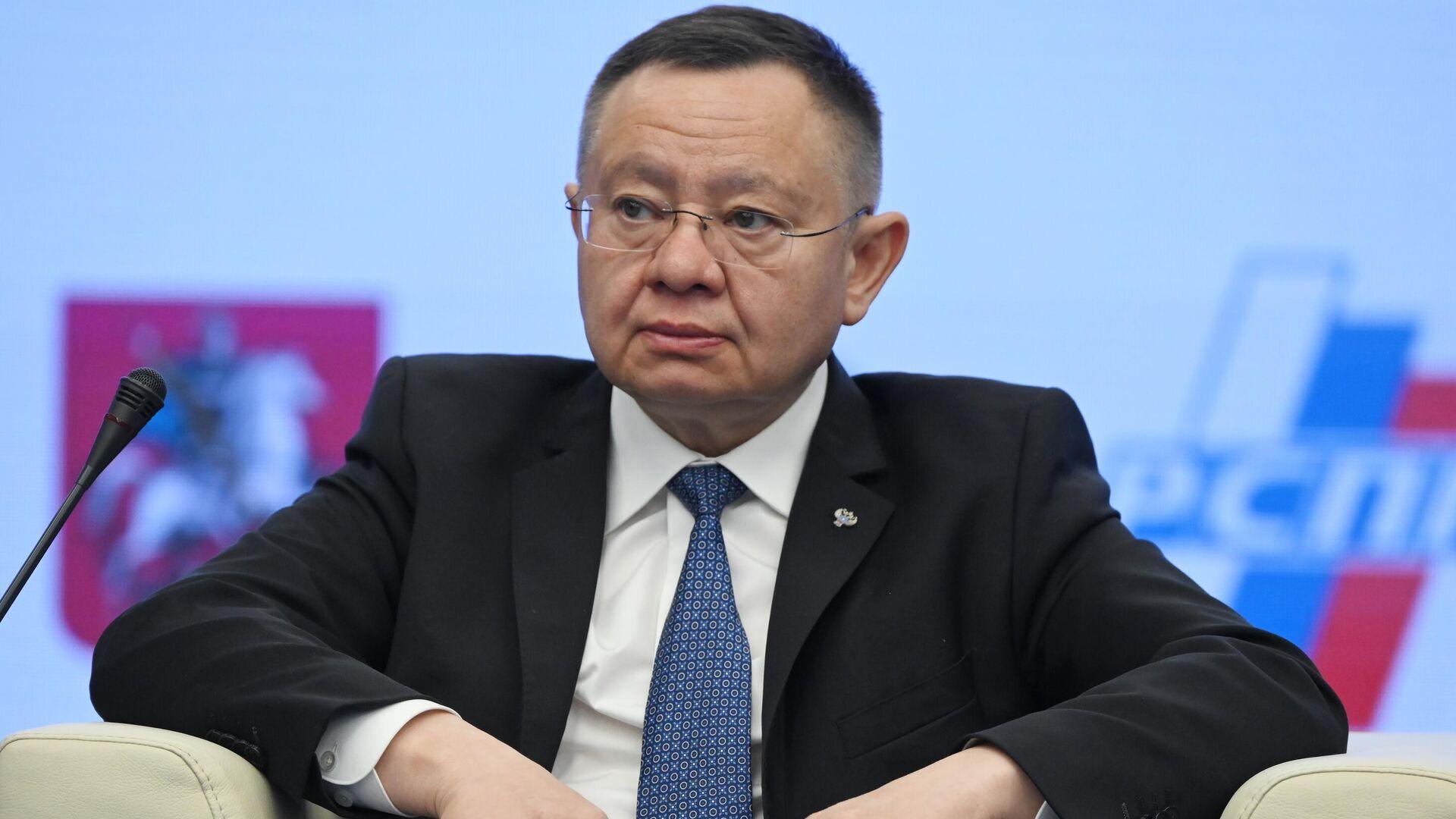 Министр строительства и жилищно-коммунального хозяйства РФ Ирек Файзуллин - РИА Новости, 1920, 16.04.2021