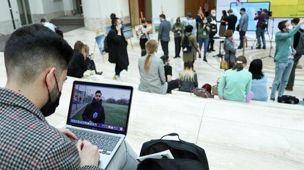 На XV Международном медиафоруме молодых журналистов Диалог культур, Санкт-Петербург