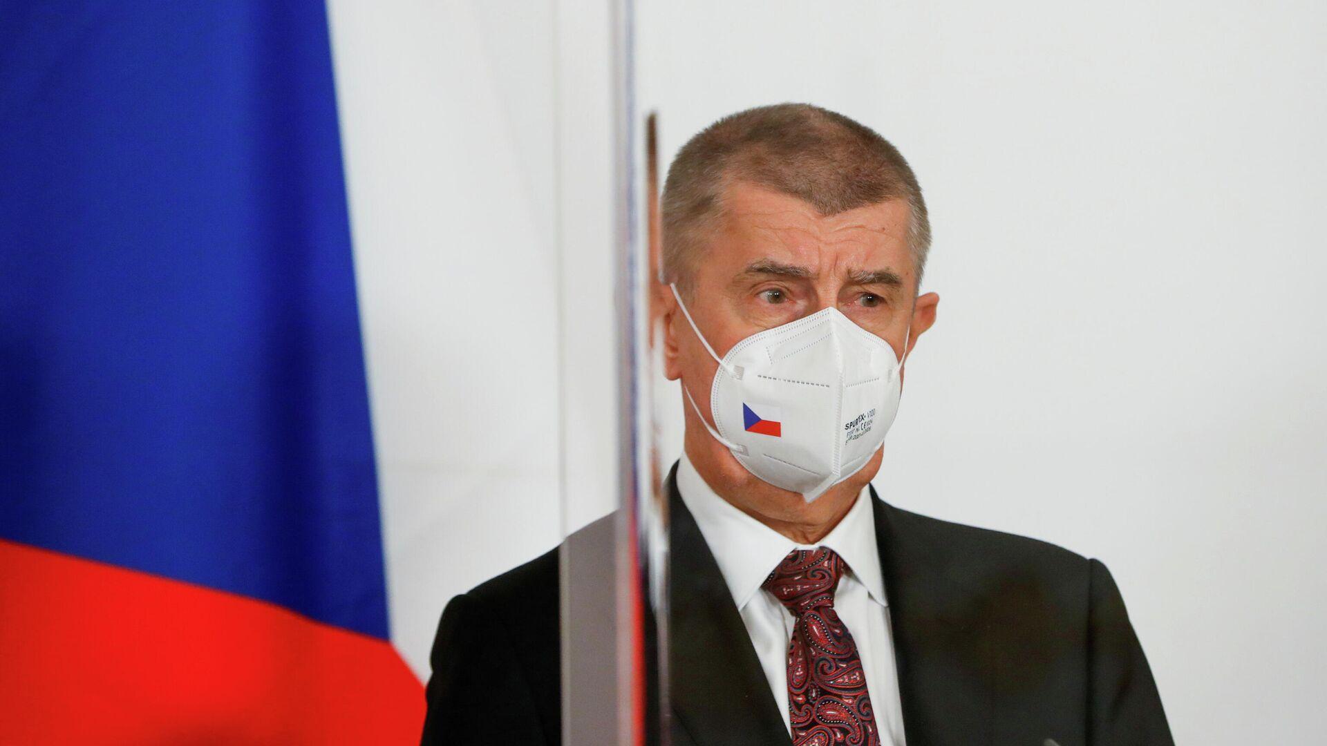 Премьер-министр Чехии Андрей Бабиш - РИА Новости, 1920, 06.05.2021