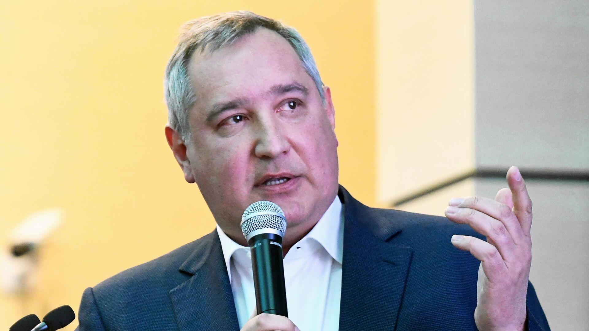 Генеральный директор госкорпорации Роскосмос Дмитрий Рогозин - РИА Новости, 1920, 29.08.2021