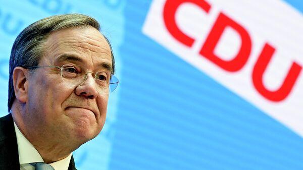 Лидер партии Христианско-демократический союз Армин Лашет