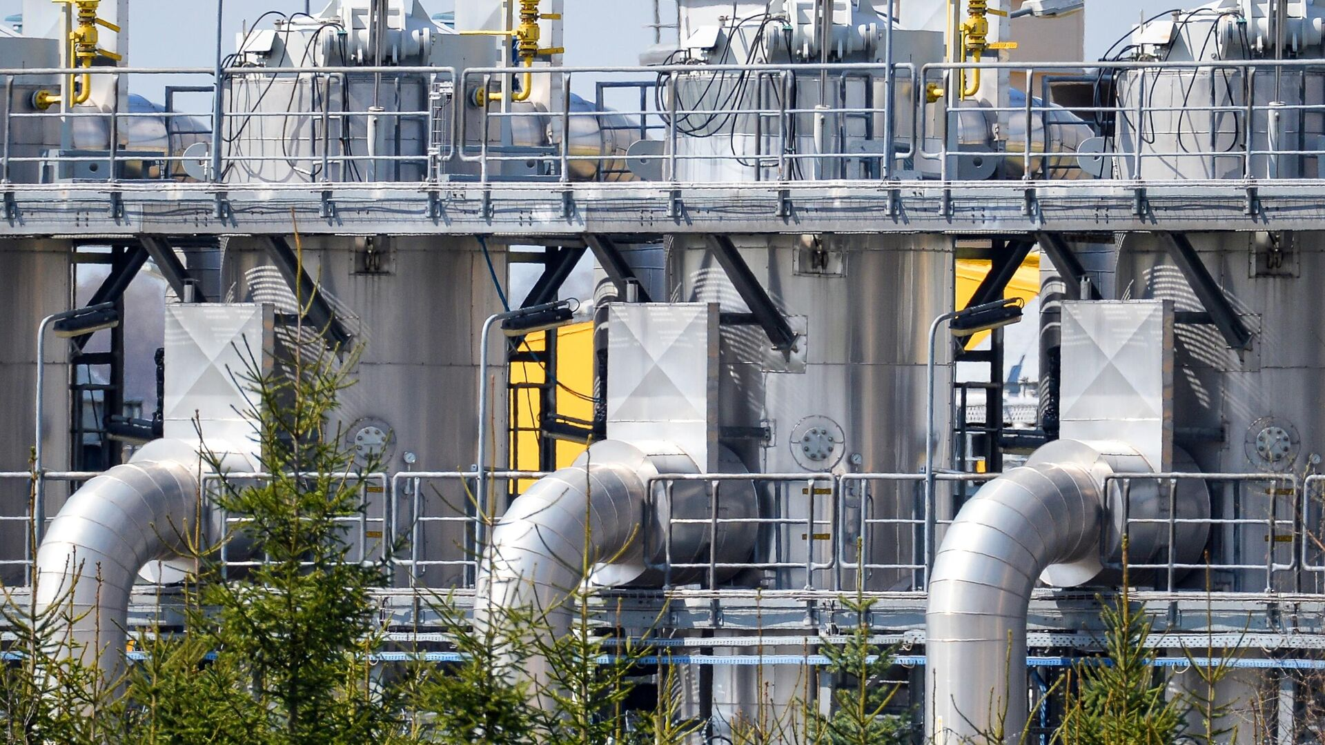 """Цена газа в Европе упала на новостях по """"Северному потоку — 2"""""""