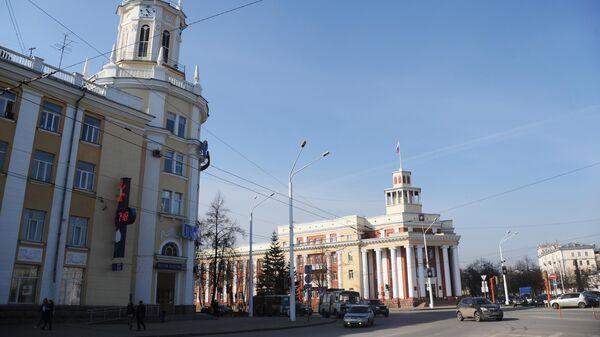Площадь Советов в Кемерово