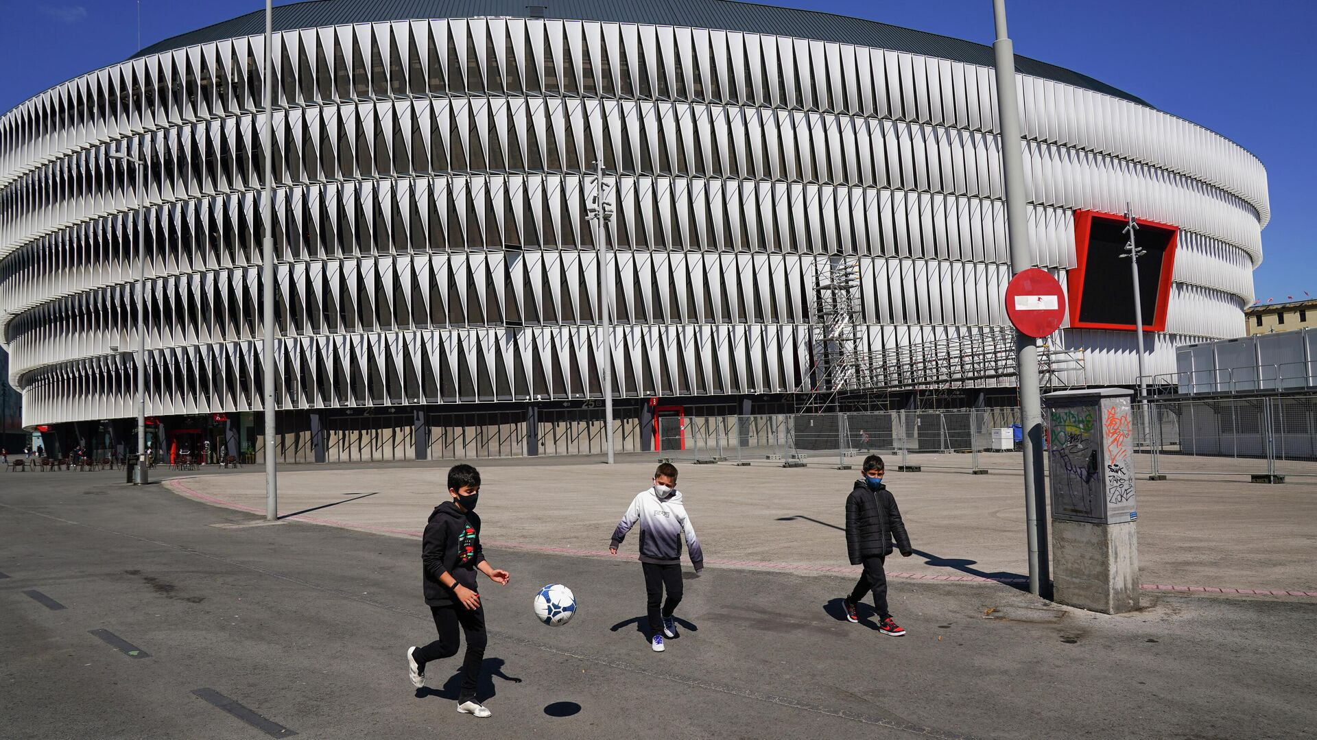 Стадион Сан Мамес в Бильбао - РИА Новости, 1920, 22.04.2021