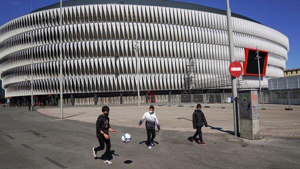 Стадион Сан Мамес в Бильбао