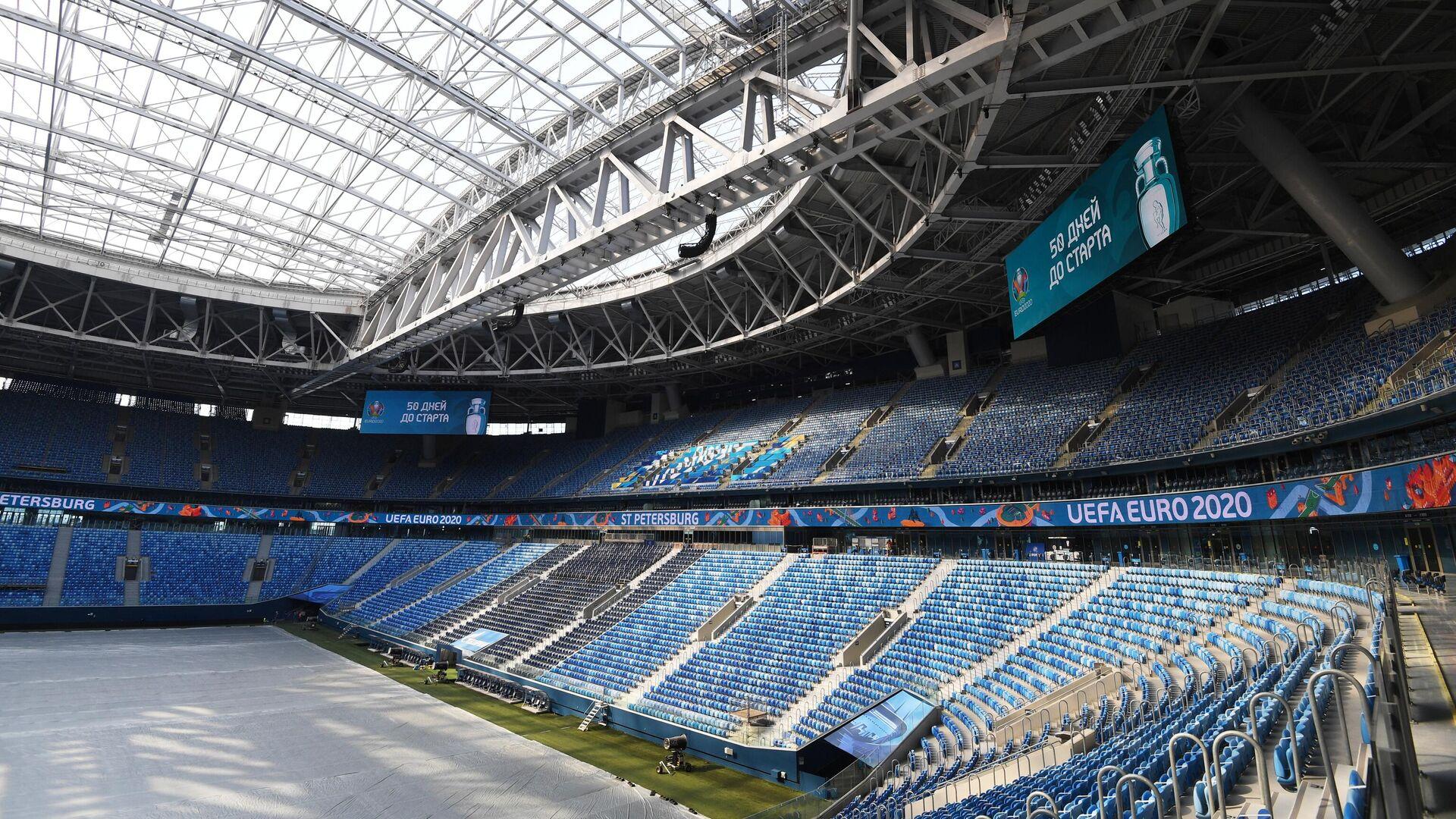 Футбольный стадион Газпром Арена в Санкт-Петербурге - РИА Новости, 1920, 03.06.2021