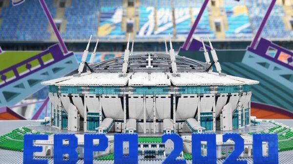 Макет футбольного стадиона Зенит-Арена