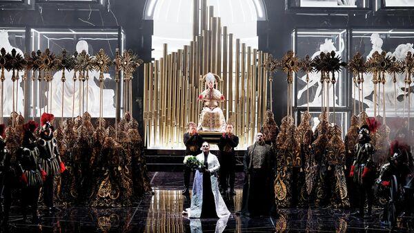 Фрагмент оперы Тоска в Большом театре