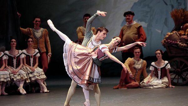 Сцена из балета Жизель