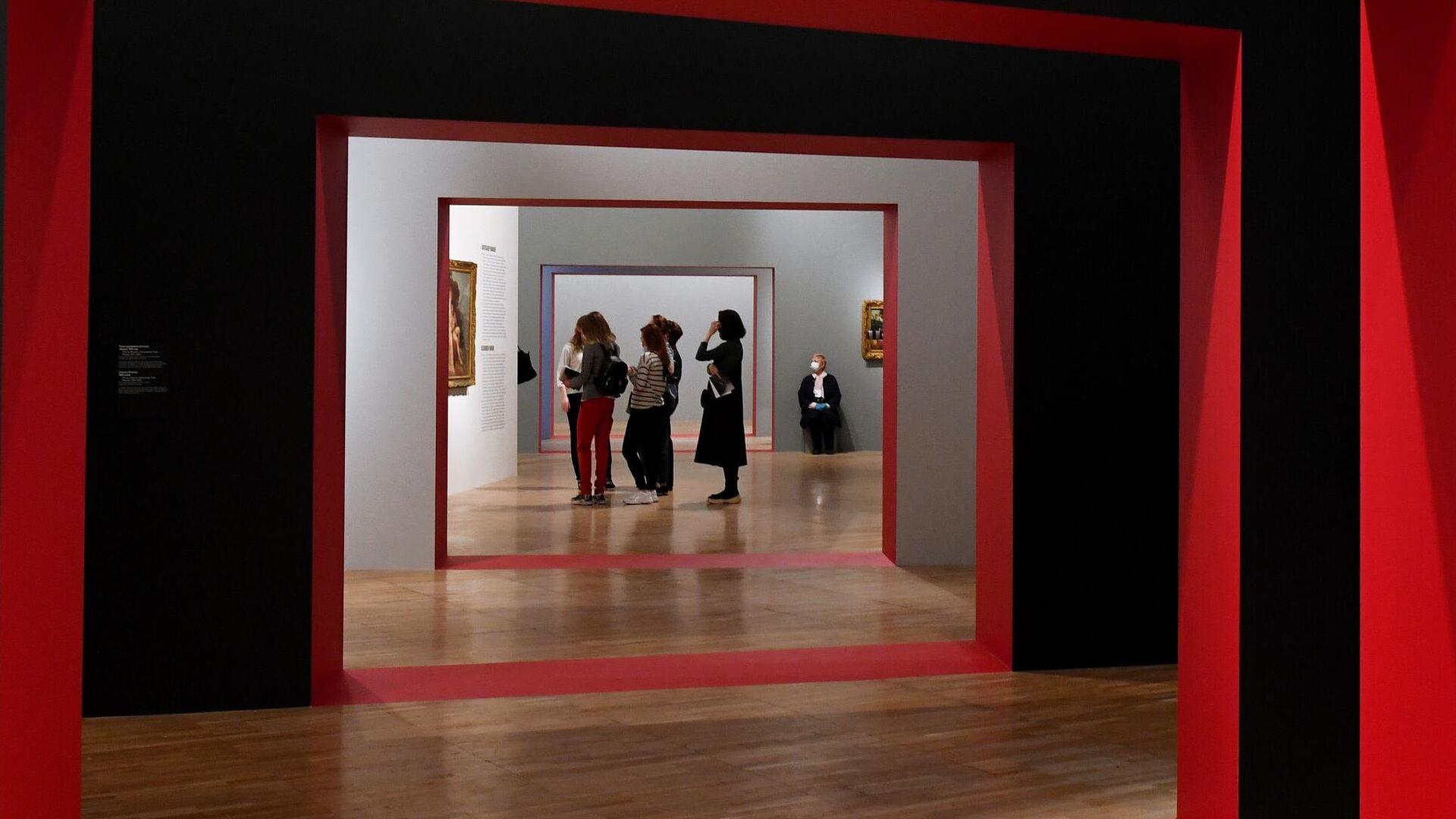 На выставке Мечты о свободе. Романтизм в России и Германии в Третьяковской галерее - РИА Новости, 1920, 23.04.2021