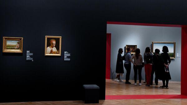 На выставке Мечты о свободе. Романтизм в России и Германии в Третьяковской галерее