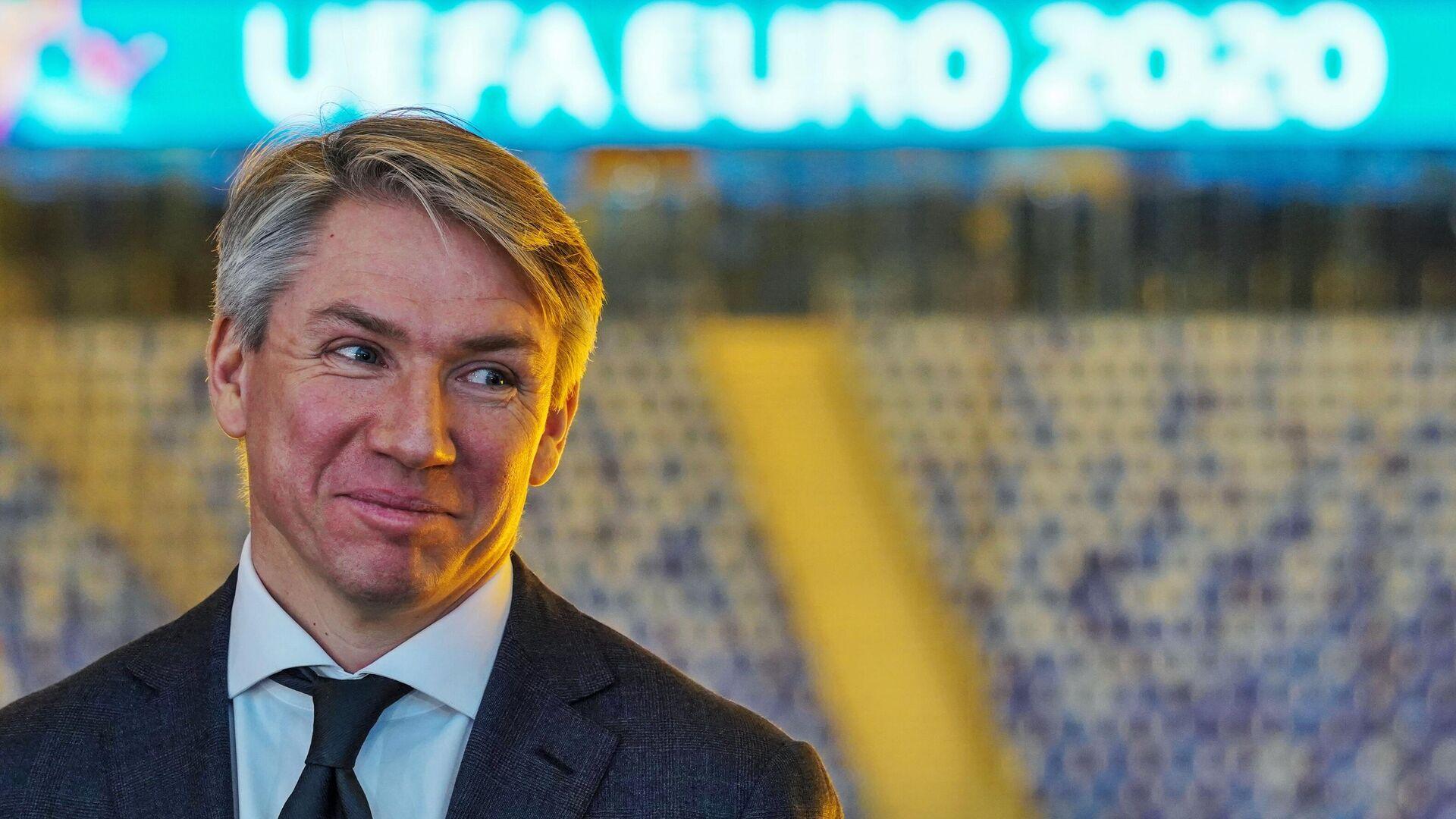 Генеральный директор Оргкомитета Евро-2020 в Санкт-Петербурге Алексей Сорокин - РИА Новости, 1920, 08.09.2021