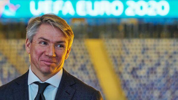 Генеральный директор Оргкомитета Евро-2020 в Санкт-Петербурге Алексей Сорокин