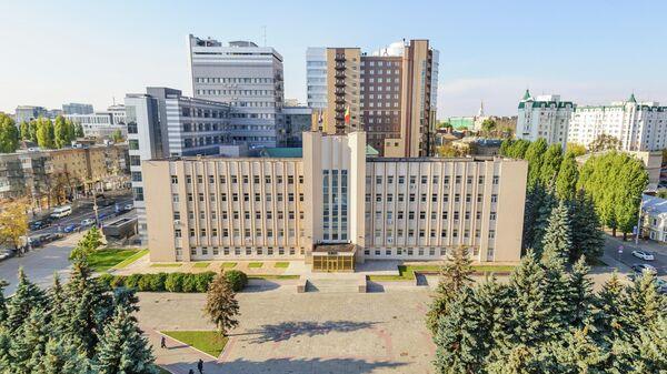 Вид на здание областной думы Воронежской области