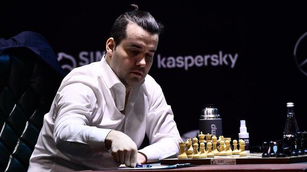 Шахматист Ян Непомнящий (Россия)