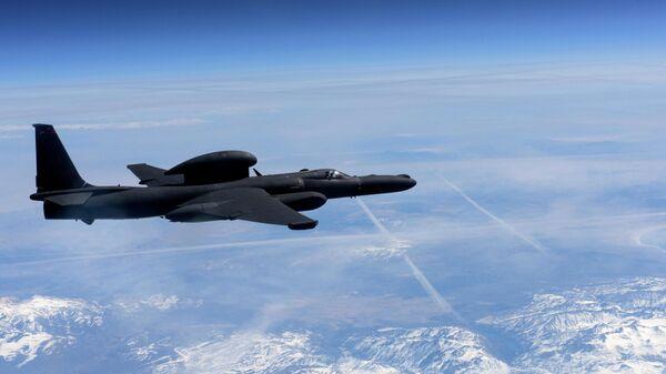 Cамолет-разведчик Lockheed Martin U-2 Dragon Lady ВВС США