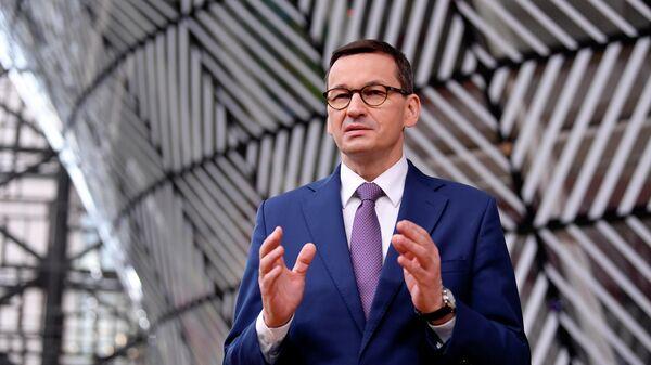 Премьер Польши Моравецкий обвинил Россию в проведении политики газового шантажа
