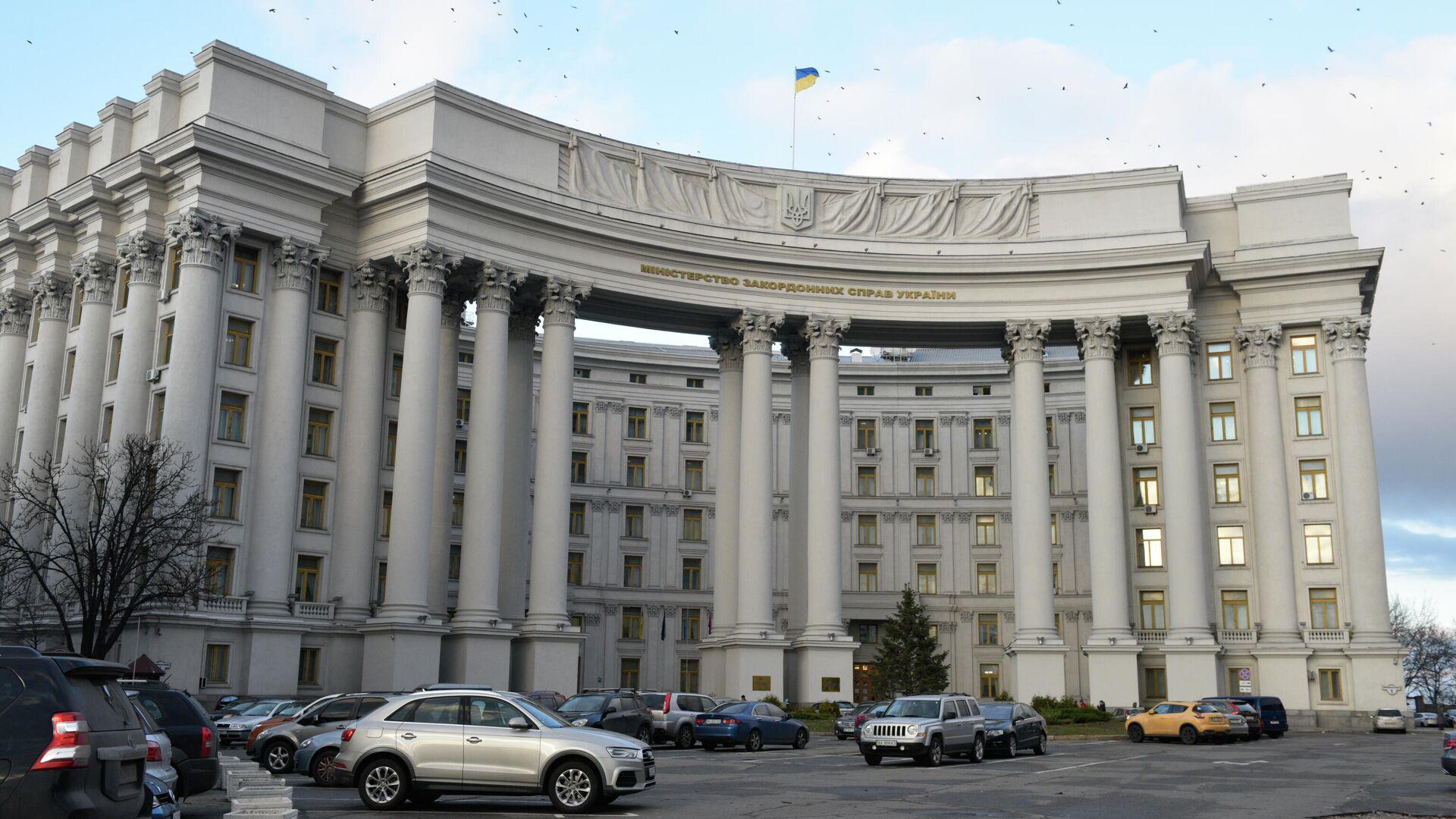 Здание министерства иностранных дел в Киеве. - РИА Новости, 1920, 28.09.2021