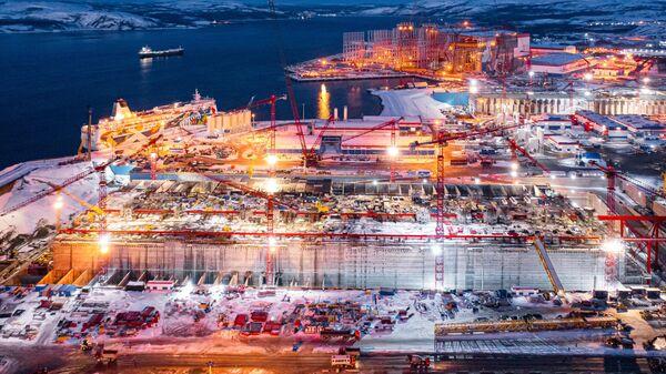 Установка блок-модулей управления для проекта Арктик СПГ 2