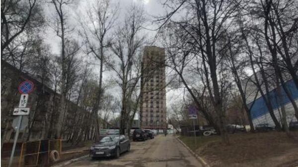 Новостройка реновации в московском районе Зюзино