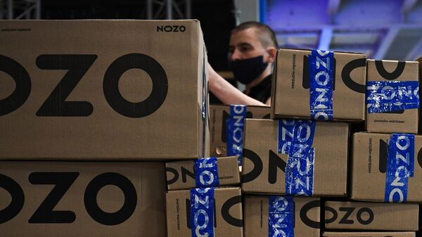 Сортировка интернет-заказов в логистическом центре Ozon