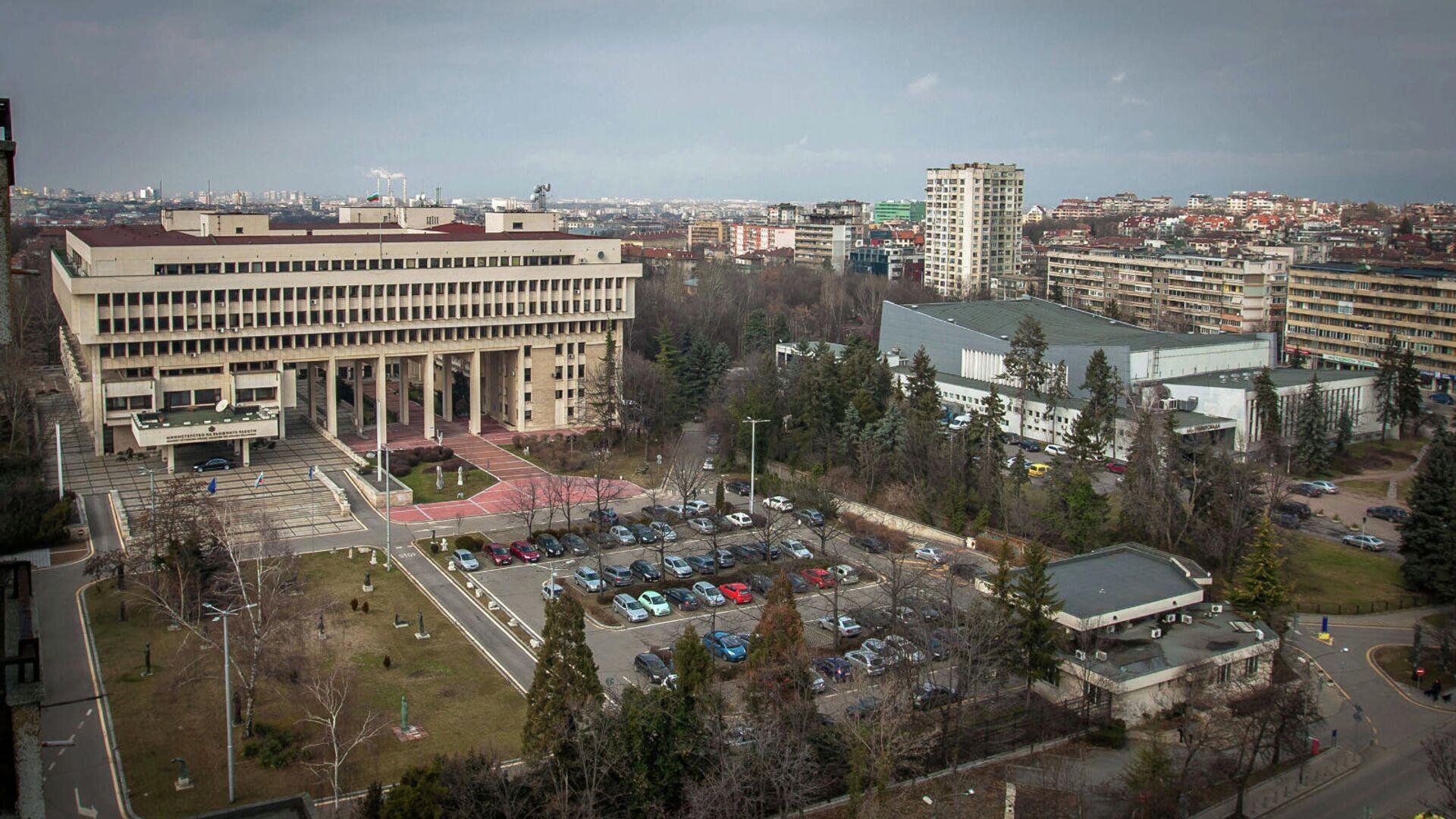 Здание Министерства иностранных дел Болгарии в Софии - РИА Новости, 1920, 29.04.2021