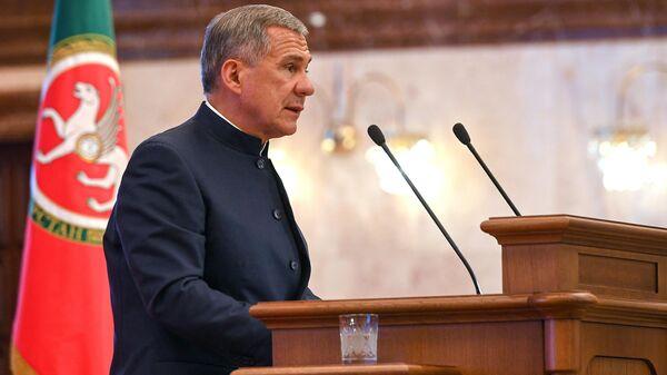 Президент Республики Татарстан Рустам Минниханов