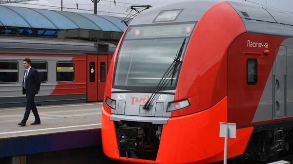 Скоростной поезд Ласточка