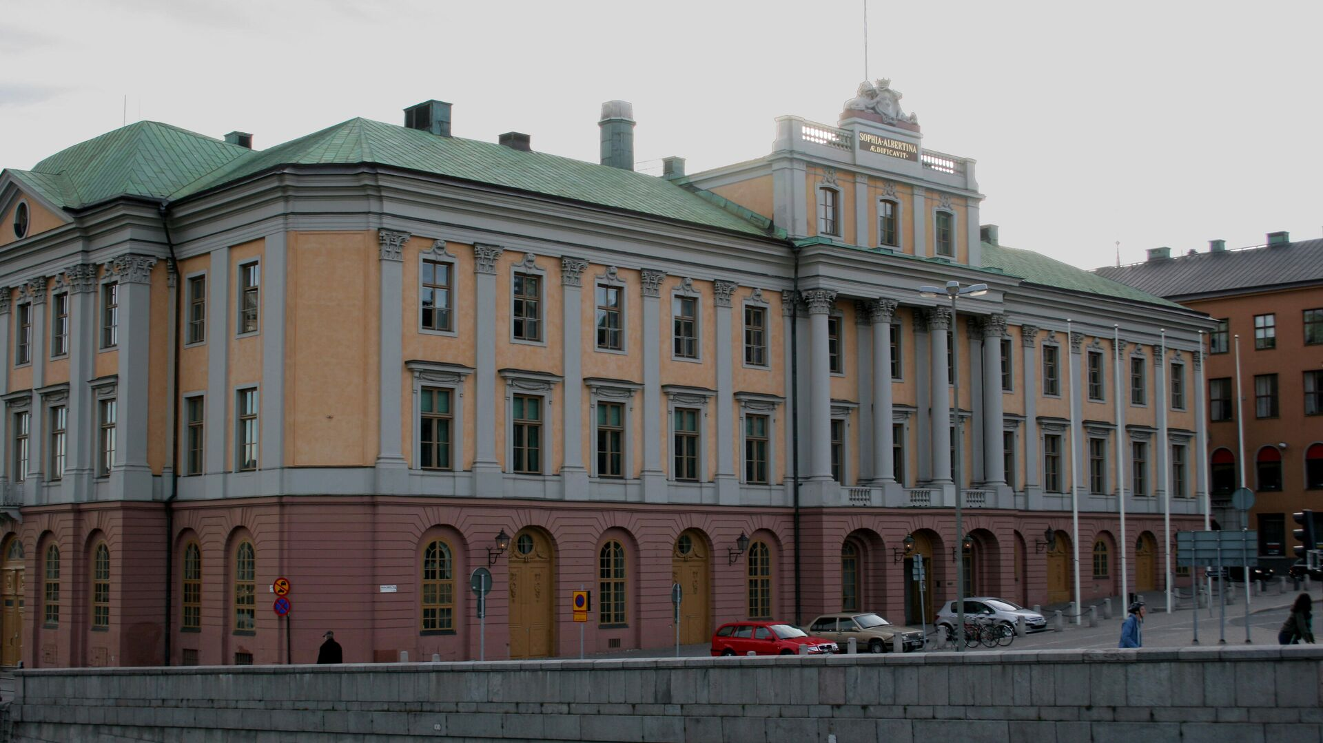 Здание Министерства иностранных дел Швеции - РИА Новости, 1920, 01.05.2021