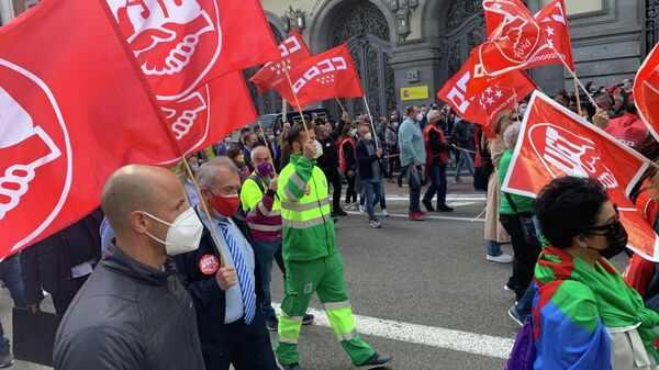 Международный день трудящихся в Испании
