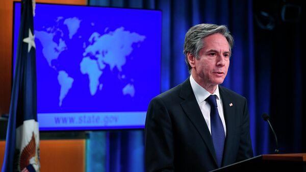 Государственный секретарь США Энтони Блинкен