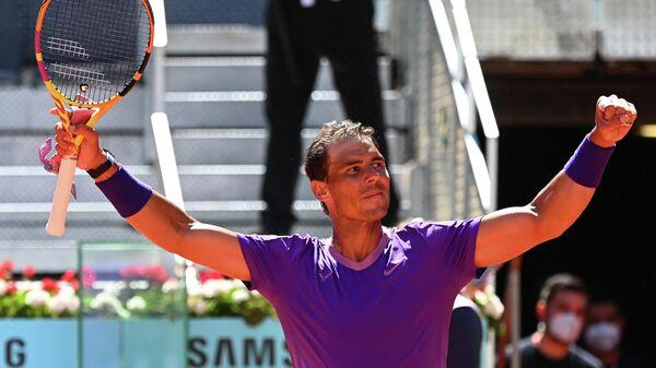 Теннисист Рафаэль Надаль (Испания)