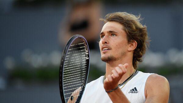 Теннисист Александр Зверев (Германия)